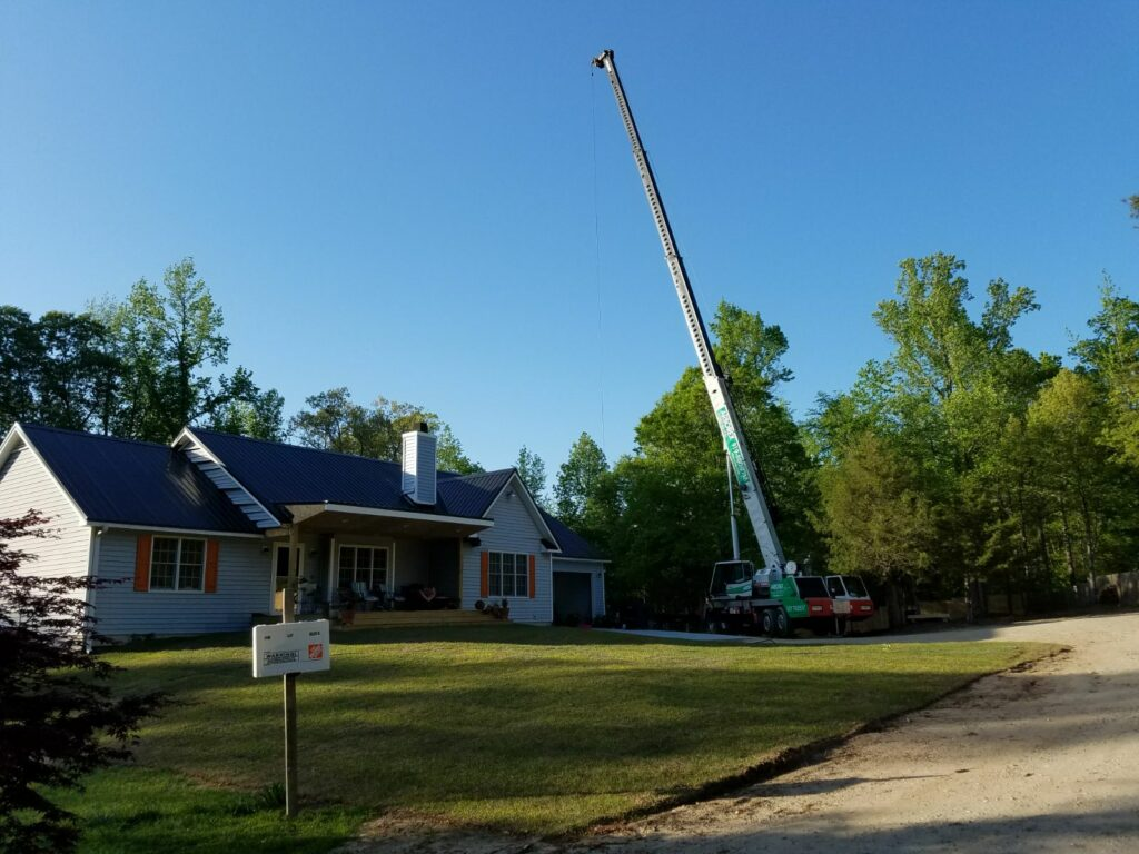Home Tree Removal Crane Wake Forest NC